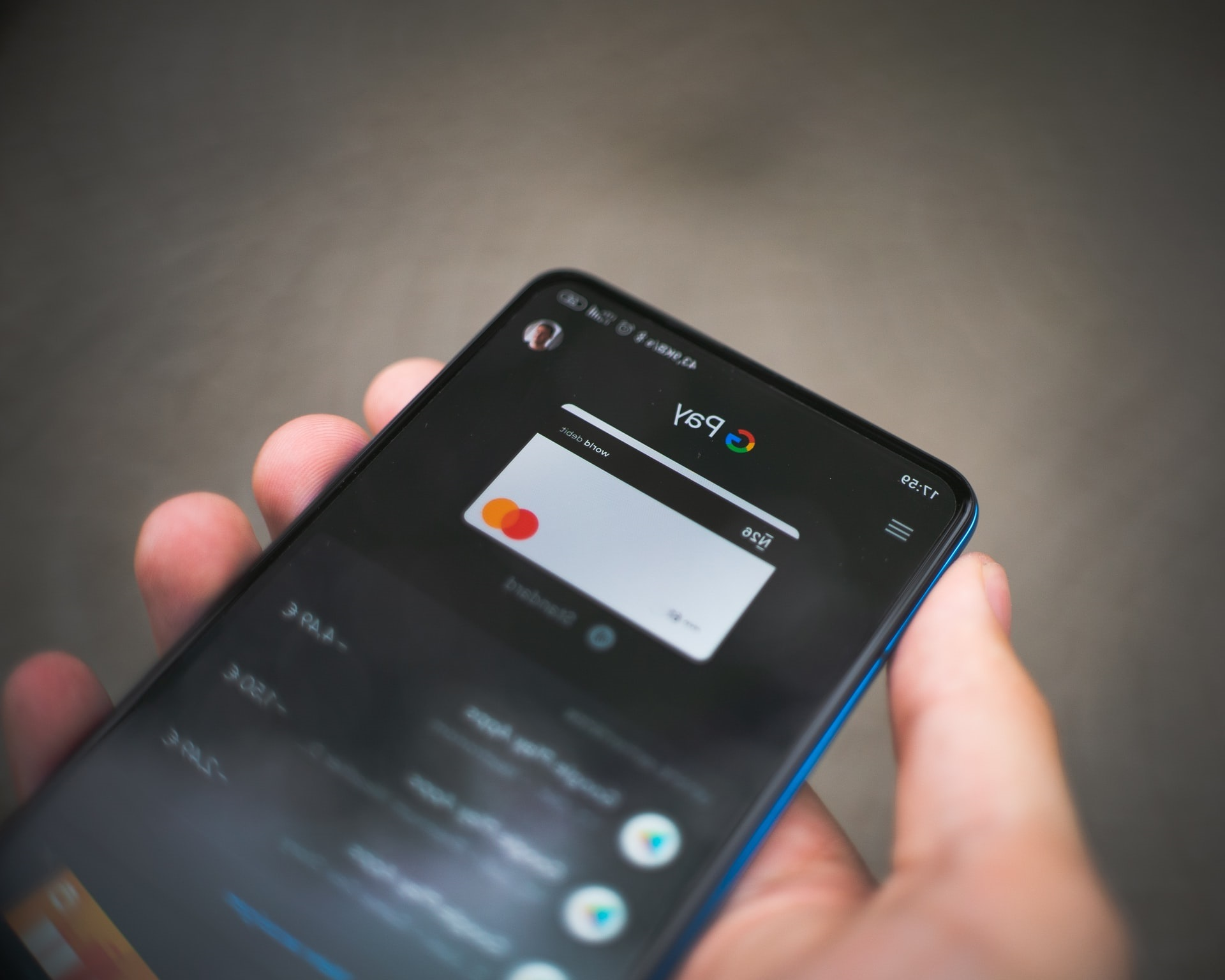 Paiement sans contact Smartphone Google Pay